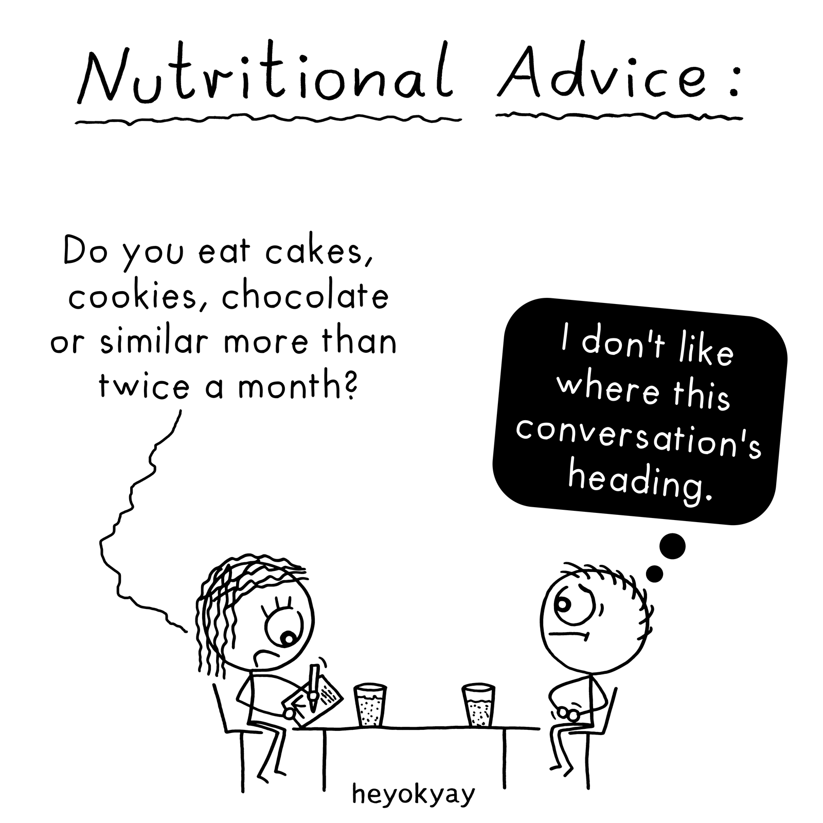 Nutritional Advice heyokyay comic