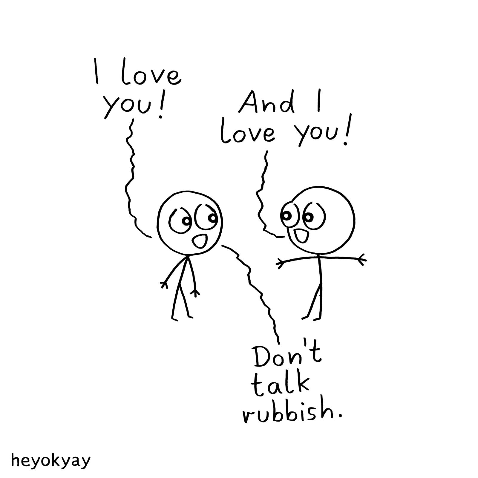 Rubbish heyokyay comic