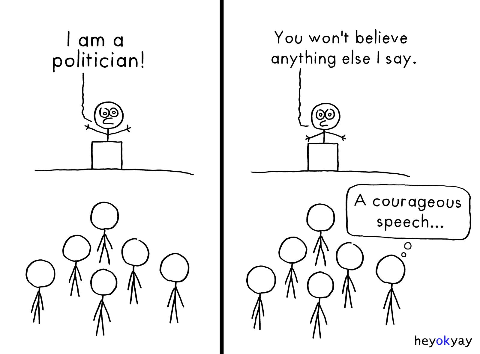 Speech heyokyay comic