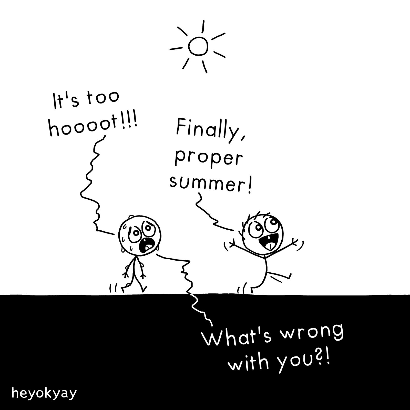 Summer heyokyay comic