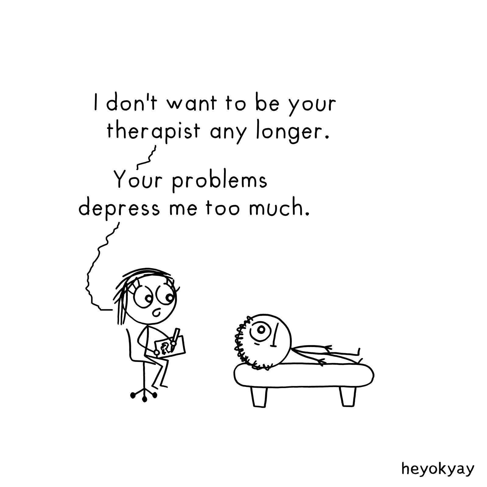 Therapist heyokyay comic