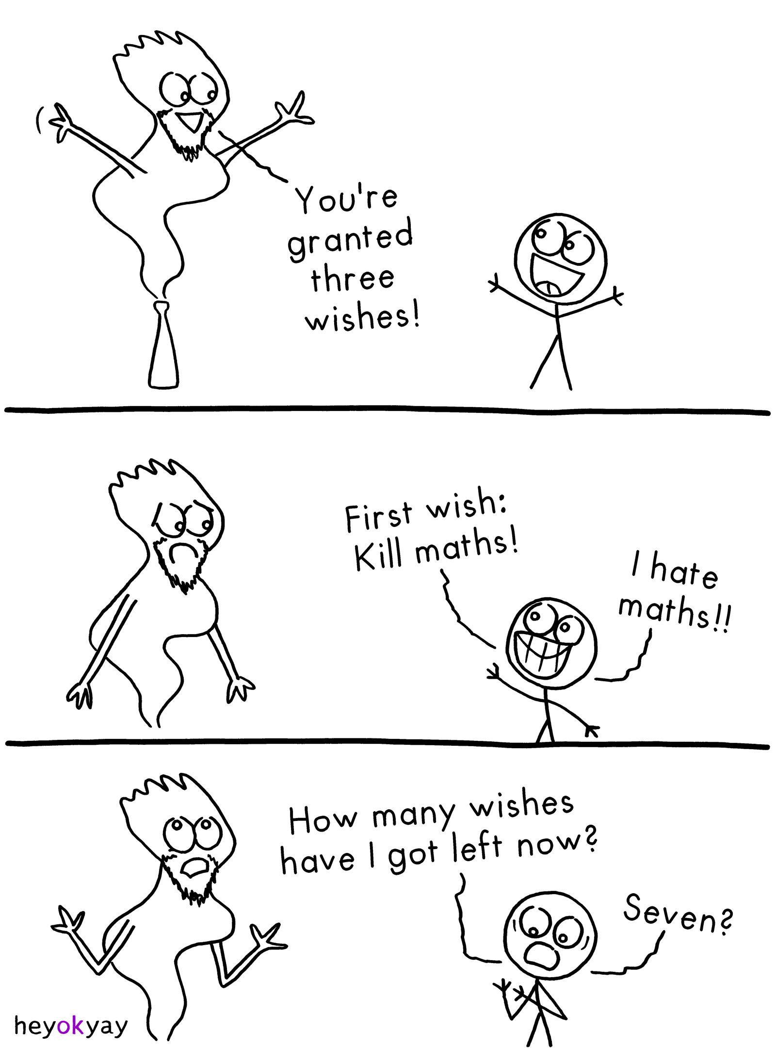 Three Wishes heyokyay comic