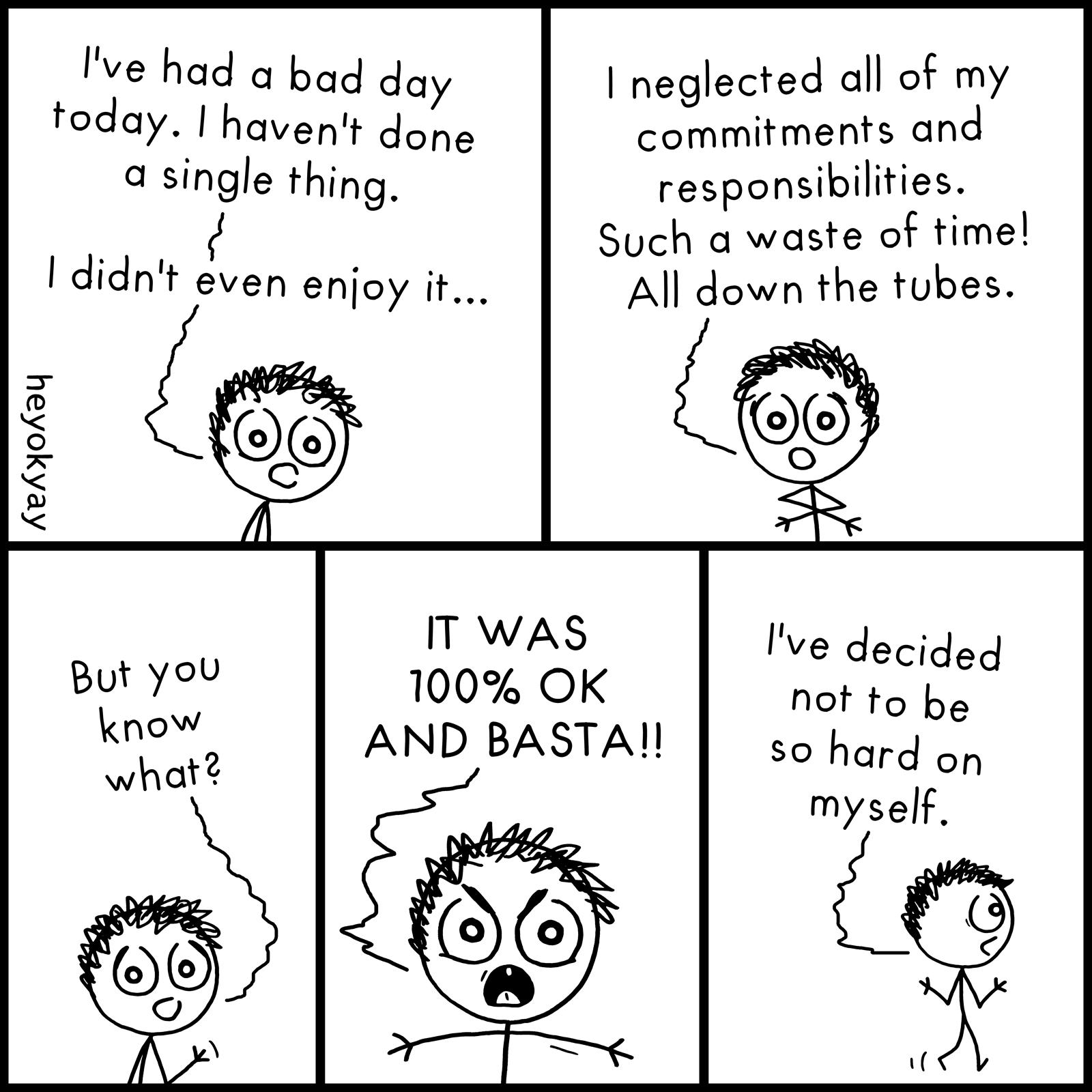 Waste Of Time heyokyay comic