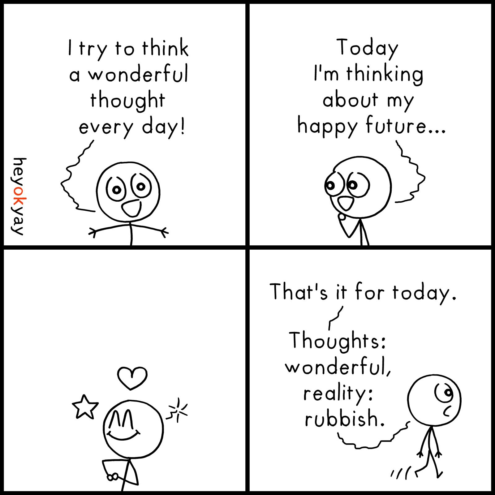 Wonderful Thoughts heyokyay comic